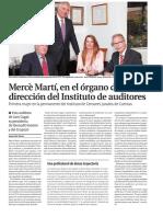 Mercè Martí, en el órgano de dirección del Instituto de auditores
