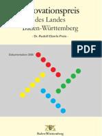 2005 - Dokumentation des Innovationspreises des Landes Baden-Württemberg 2005