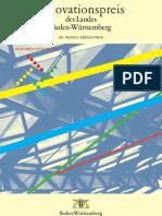 2008 - Dokumentation des Innovationspreises des Landes Baden-Württemberg 2008