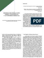 () Robles, Fernando - Sistemas de interacción, doble contingencia y autopoiesis indexical