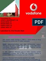 Final Ppt of Vodafone
