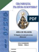 Modulo 2-Religion 2013