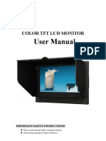 Lilliput Monitor 5D-II-P Instructions