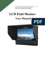Lilliput Monitor 663 Instructions