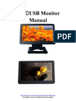 Lilliput Monitor UM1010+UM1012 Instructions