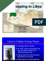 Libya Oil Info