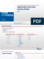 Opportunity in the Indian Inverters Market_Feedback OTS_2013