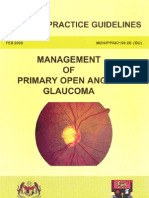 CPG - Primary Open Angle Glaucoma