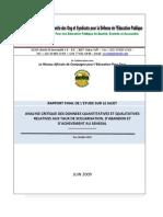 Rapport Final Etude Cosydep Ult
