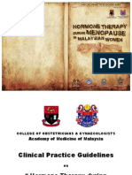 CPG Hormone Therapy During Menopause in Malaysian Women