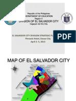 El Salvador Presentation for April 2-5, 2013