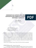 ICONOGRAFÍA DE LEPANTO. ARTE, PROPAGANDA Y REPRESENTACIÓN SIMBÓLICA DE UNA MONARQUÍA UNIVERSAL Y CATÓLICA