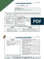 Planificacación del Modulo General y Espesífico semanal