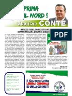 """Editoriale """"La Voce della Gente Veneta"""" di Maurizio Conte. Edizione settembre 2013"""
