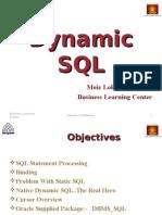 Oracle Dynamic SQL
