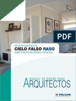 Cielo_Raso Manual Para Arquitectos