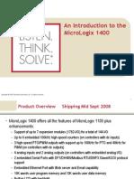 Micrologix 1400 Introduction(1)