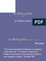 on writing well leads  nonos
