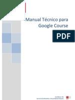 Manual Tecnico Para Google Course Builder