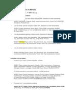 Consultas Comunes en MySQL(Con 5 Temas)