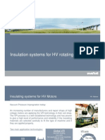 Insulation Systems for HV Motors