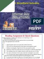 Bon2003 Informal Quiz Solutions