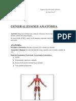 Generalidades Anatomia