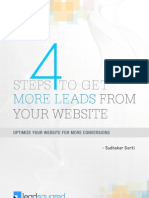 Four Steps to Get Leads From Your Website