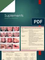 Suplements of Rosacea dermatitis