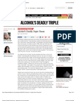 Alcohol's Deadly Triple Threat - Newsweek and the Daily Beast