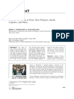 2006 Polymer Chemistry in Flow