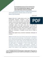 Dinâmicas de patrimonialização em contextos e revitalização e globalização urbana