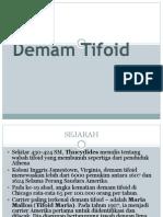 Demam Tifoid ppt