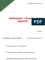 GS 3.4 Sintereizacao Processosespeciais