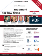 Risk management for law firms