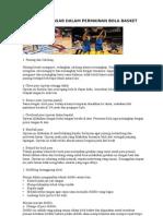 5 Teknik Dasar Dalam Permainan Bola Basket