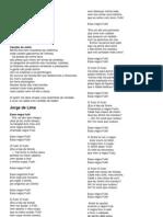 Poemas Primeira e Segunda Fase Modernista