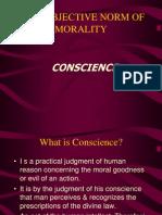 Conscience Subjtv Norm