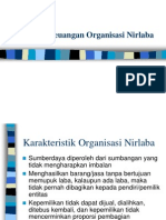 Pelaporan Keuangan Organisasi Nirlaba