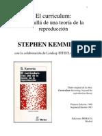 El Curriculum Mas Alla de Una Teoria de La Reproduccion-S.kemmis