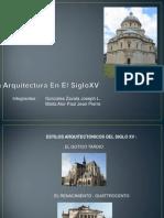 La Arquitectura en El Siglo Xv
