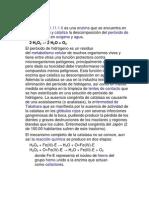 Catalasas y Peroxidasas