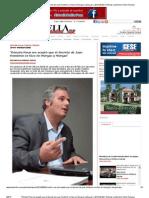 'Rómulo Roux me aceptó que el decreto de Juan Hombrón se hizo en Morgan y Morgan' _ 2013-09-09 _ Noticias La Estrella Online Panama