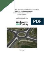 Roundabout 2-Year Study - City Copy