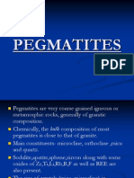 PEGMATITES