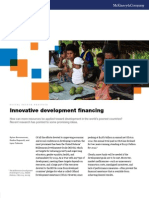Innovative Development Financing