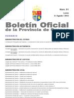 Bop Boletines 2012-8-6 Index