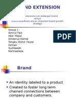 Brand Extension