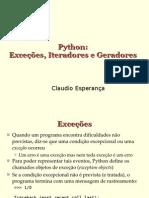 Programando Em Python - Excecoes