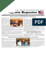 September 11 - 17, 2013 Sports Reporter